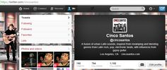 dont forget, Follow us @ Twitter.com/cincosantos and stay in touch!
