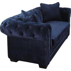 Nanette Velvet Sofa
