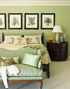 green bedroom design. love the nature design theme  Bedroom DesignsBedroom IdeasGreen 26 Awesome Green Ideas bedroom