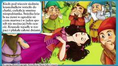 Królewna Śnieżka - bajka dla dzieci - czytanka PL