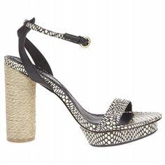 Women's Matisse Carmen Black Python Shoes.com