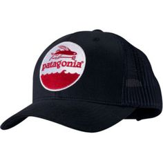 (Trucker hat) This was my first and still my favorite Patagonia trucker hat.  It is pretty faded now and covered in fish guts 73c82f22677d