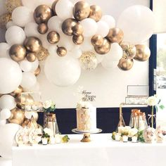 21st Birthday Decorations, Gold Party Decorations, Anniversary Decorations, Engagement Party Decorations, 50th Wedding Anniversary, Anniversary Parties, Balloon Decorations, Backdrop Decorations, Engagement Balloons