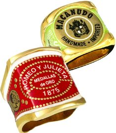 Cigar Band rings by Bands O' Gold are not hazardous to health. :-)