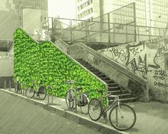 Our green steps at Garibaldi Station was the first Italian Green Provocateur intervention. Built in the night, commuters woke up to a surprise! Commissioned by AMAZElab, Milan Sketch, urban intervention during Salone Week. - Tap the link to shop on our official online store! You can also join our affiliate and/or rewards programs for FREE!