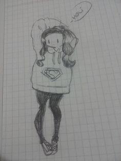 La yo con buzo de superman!!