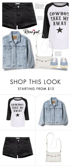 """""""Untitled #1703"""" by kriz-nambikatt ❤ liked on Polyvore featuring Gap, H&M, Bueno and Yves Saint Laurent"""