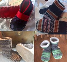 Eco Slips and Mitts Eco Slips and Mitts produce high quality winter apparel including mittens, slippers and hats from recycled wool sweaters.