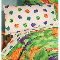 Dino Alphabet Quilt Cover Set From Kids Bedding Dreams