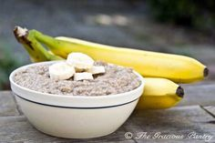 Clean Eating Banana Bread Oatmeal