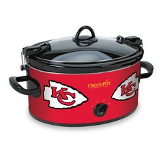 Kansas City Chiefs NFL Crock-Pot® Cook - I may have several crock pots, but I need this one too!!!