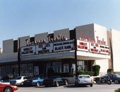 Old Topanga Theater across from Topanga Plaza--Take a look at the movie titles!  -That was where we went most as a family until I was a late teen and UA Warner Center became more of a hangout.