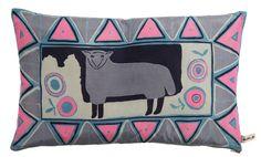 Silk Sheep Cushion