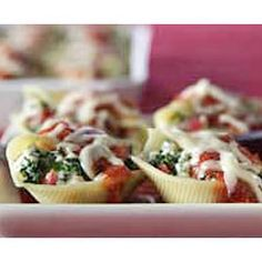 Stuffed Shells http://allrecipes.com/recipe/stuffed-shells-2/detail.aspx?event8=1=SR_Title=filled%20shells%20pasta=Quick%20Search=1=A%3aSearch%20Results-List%28control%29=%2ffeatures%2fholidays%2fvalentines-day%2fdefault.aspx