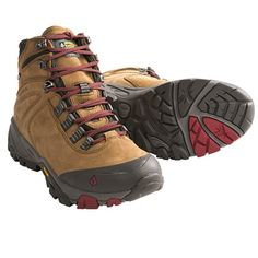 Vasque Taku Gore-Tex® Hiking Boots - Waterproof (For Women) in Neutral Tan/Chili Pepper