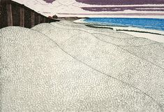 Normans Bay by John Brunsdon – available to buy online. Norman, Beach Mat, Outdoor Blanket, Beaches, Artist, Summer, Landscape, Summer Time, Sands
