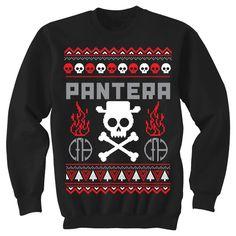Pantera Holiday Crew Sweatshirt | Pantera Shop