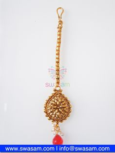 Indian Jewelry Store | Swasam.com: Tikka with Perls and White Stones - Tikka - Jewelry Shop to Buy The Best Indian Jewelry  http://www.swasam.com/jewelry/tikka/tikka-with-perls-and-white-stones-1514.html?___SID=U  #indianjewelry #indian #jewelry #tikka