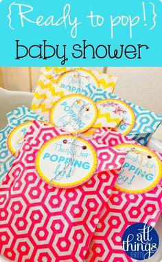 Cute Baby-shower theme.