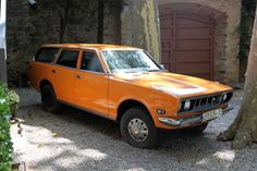 This '72 610 Wagon is not only badass because it's a Datsun, but also because it was owned by Salvador Dali!