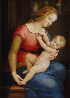 Madonna d'Orleans  1506 Museo Conde,Chantilly