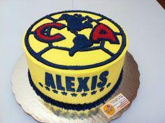 Club America futball cake