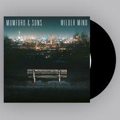 """Mumford & Sons  - Wilder Mind 12"""" Vinyl LP"""