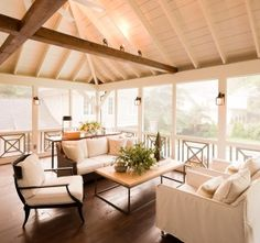 screened in porch... on the list