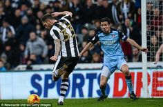 Daryl Murphy put the home side in front during stoppage time at the end of the first half