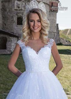 EDA: Elegância e perfeição são os principais componentes do modelo Eda, que transforma a noiva em uma linda princesa. Para saber mais, acesse: www.russianoivas.com #vestidodenoiva #vestidosdenoiva #weddingdress #weddingdresses #brides #bride