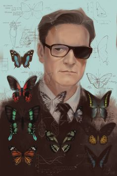 """sashkash: """"- Harry Hart - *** Edit: Now available as a print on """" Colin Firth, Kingsman Harry, Collages, Hero Poster, Empire Records, Kings Man, Taron Egerton, Secret Service, Cinema Posters"""
