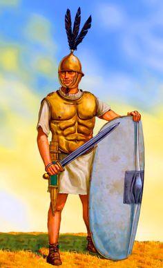 Republican Roman legionary, Punic War