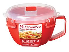 Sistema Microwave Noodle Bowl 940 ml, 31.7 oz Sistema