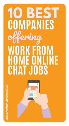 Do you love assisting people through online chat?  If your answer is yes, consider working from home as a Chat Support Agent. These jobs allow you to assist customers through email or chat.  Dream Home Based Work is here to help with a list of 10 legit companies to get you started!  #workathome #customerservice #jobs #hiring Home Based Work, Legit Work From Home, Legitimate Work From Home, Work From Home Tips, Busy At Work, Working From Home Meme, Customer Service Jobs, Media Quotes, Work Quotes
