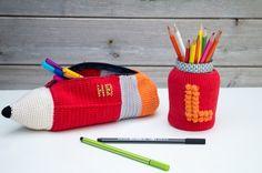 kit rentree trousse pot à crayons entrecrochet