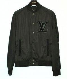 Louis Vuitton Millionaire Varsity Jacket for my hubby