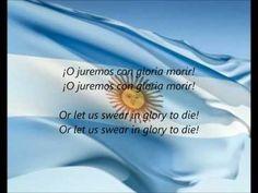"National Anthem of Argentina - ""Himno Nacional Argentino"" (Argentine National Anthem) Includes lyrics in both Spanish (Argentina) and English."