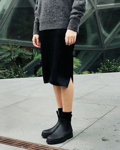 """aa0f640285 Everlane on Instagram: """"What if you could find a rain boot so stylish you'd  wear it when the sun's out? Tomorrow, you can. 🌦"""""""