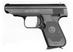 Type 77 pistol, left side, Chinese pistolLoading that magazine is a pain! Get your Magazine speedloader today! http://www.amazon.com/shops/raeind