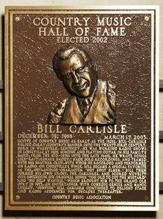 CMHF - Bill Carlisle (2002)