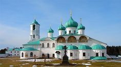 Alexander-Svirsky Monastery is a Russian Orthodox monastery located 200 miles to the East from St. Petersburg, Russia