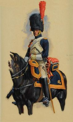 Наполеон и его время. | ВКонтакте Military Figures, Military Art, Military History, Bataille De Waterloo, First French Empire, Best Uniforms, Art Of Fighting, Military Drawings, Seven Years' War