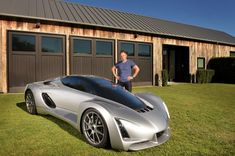 World's First 3D Printed Supercar is Unveiled – 0-60 in 2.2 Seconds, 700 HP Motor http://3dprint.com/74810/3d-printed-supercar-blade/
