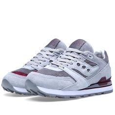 d9991b9ae75aec White Mountaineering x Saucony Courageous-Grey-Dark Red