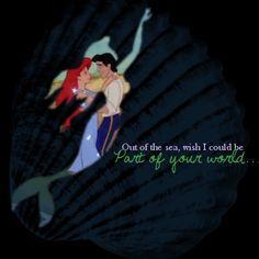 Disney's Little Mermaid...one of my favorites