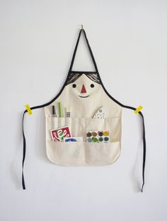 DIY kid apron