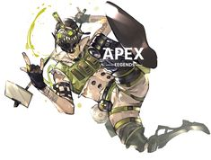 Crypto Apex Legends, Legend Drawing, Warframe Art, Legend Images, Artistic Wallpaper, Tribal Wolf, Anime Poses Reference, Chibi, The Revenant