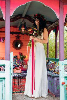 Mariage coloré, influence gypsy Réalisation La Fabrique d'Etoiles Filantes  Crédit Photo Bodart Studio Photograpy