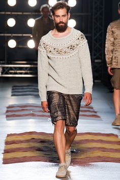 Missoni Spring 2013 Menswear Collection Slideshow on Style.com