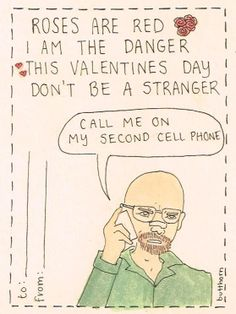 """""""Breaking Bad"""" hahahaha. So in love with this"""